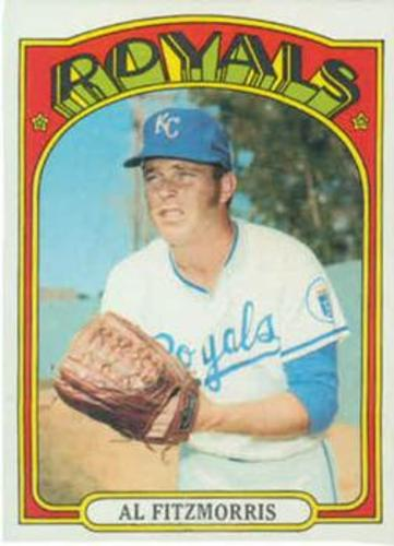 Photo of 1972 Topps #349 Al Fitzmorris
