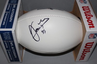 PATRIOTS - JONAS GRAY SIGNED PANEL BALL W/ PATRIOTS CHARITABLE FOUNDATION LOGO