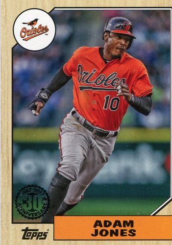 Photo of 2017 Topps '87 Topps #8719 Adam Jones