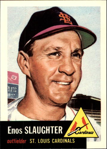 Photo of 1991 Topps Archives 1953 #41 Enos Slaughter