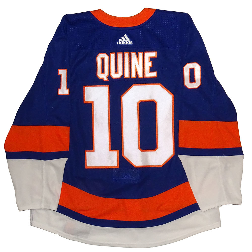 Alan Quine - Game Worn Home Jersey - 2017-18 Season - New York Islanders