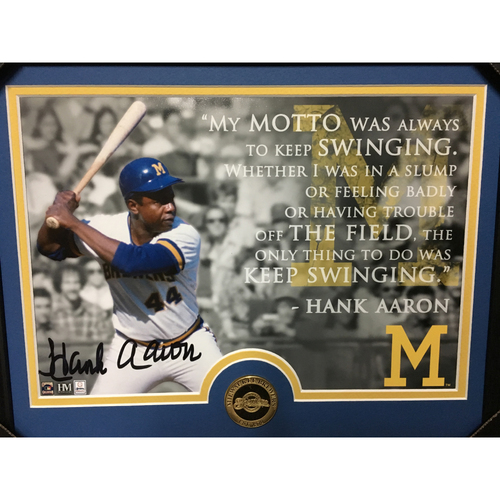 Photo of Brewers Signed Memorabilia Package
