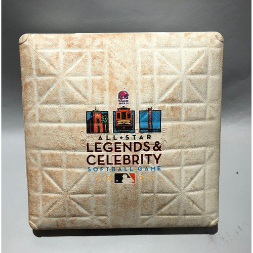 Photo of 2007 Taco Bell Legends & Celebrity Softball Game-Used 1st Base