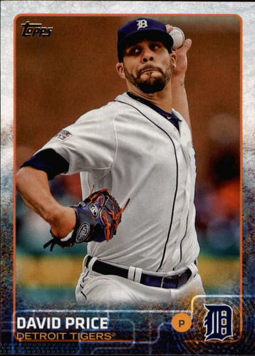 Photo of 2015 Topps #550 David Price