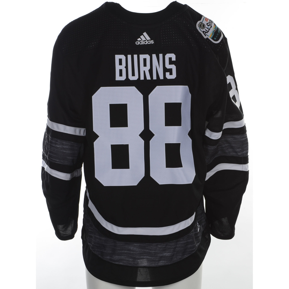 Brent Burns San Jose Sharks Player-Issued 2019 All-Star Game Jersey