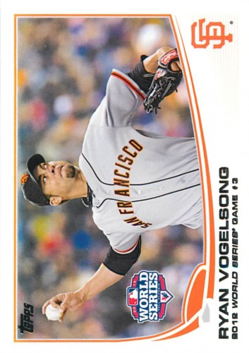 Photo of 2013 Topps #196 Ryan Vogelsong