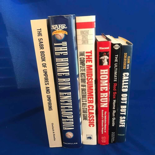 Photo of UMPS CARE AUCTION: Set of Baseball Books