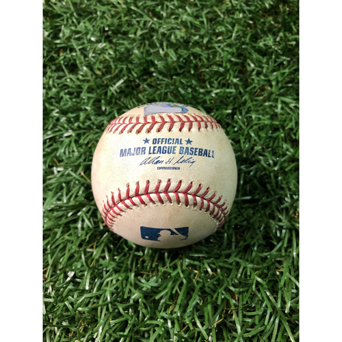 Photo of 2008 Game Used Autographed ALCS Game Six Baseball: Aki Iwamura - October 18, 2018 v BOS