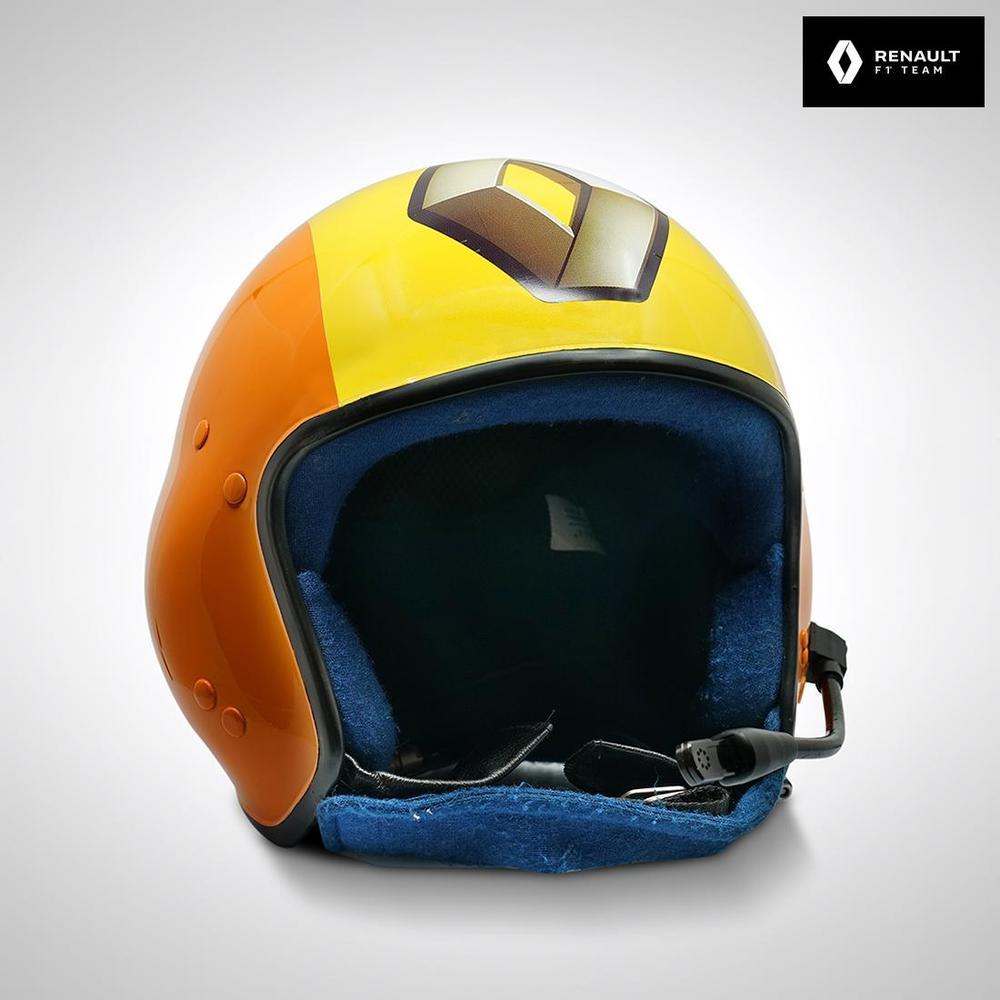 Renault F1 Team 2009 Pit Crew Helmet with Microphone