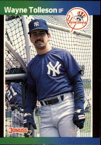 Photo of 1989 Donruss #659 Wayne Tolleson