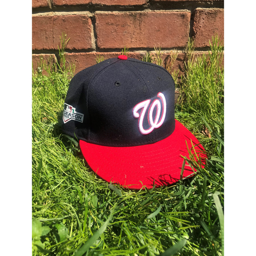 Photo of Anthony Rendon Game-Used Cap Worn 2019 NLCS