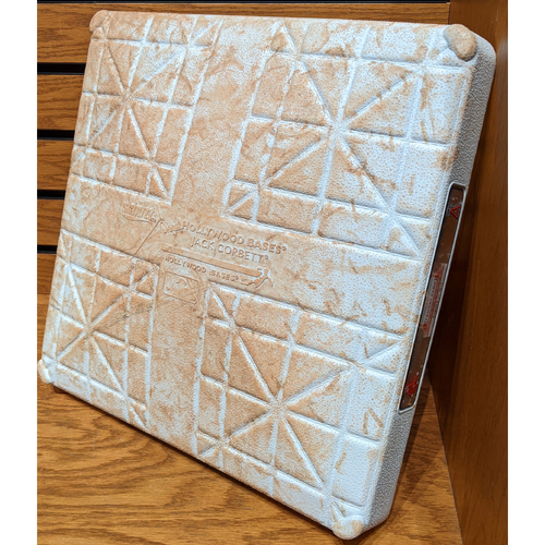 Photo of Red Sox vs. Angels August 8, 2019 Game Used 1st Base