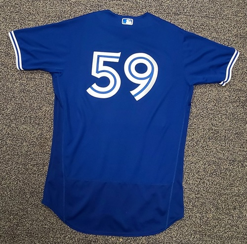 Photo of Authenticated Team Issued Spring Training Jersey: #59 (2021 Season). Size 46.