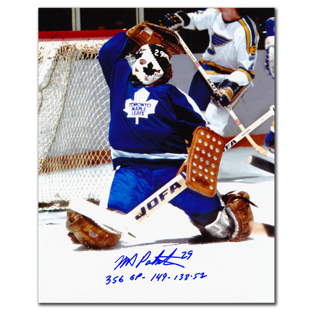 new concept 2fa14 d842d Mike Palmateer Toronto Maple Leafs Stats Autographed 8x10 ...