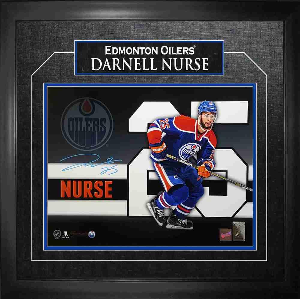 Darnell Nurse - Signed & Framed 11x14