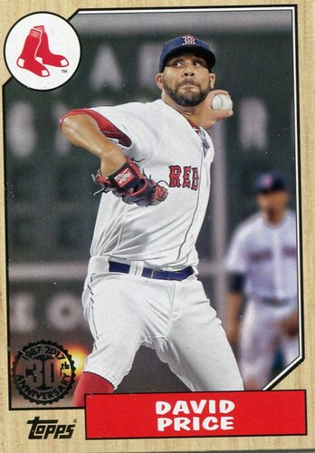 Photo of 2017 Topps '87 Topps #8734 David Price