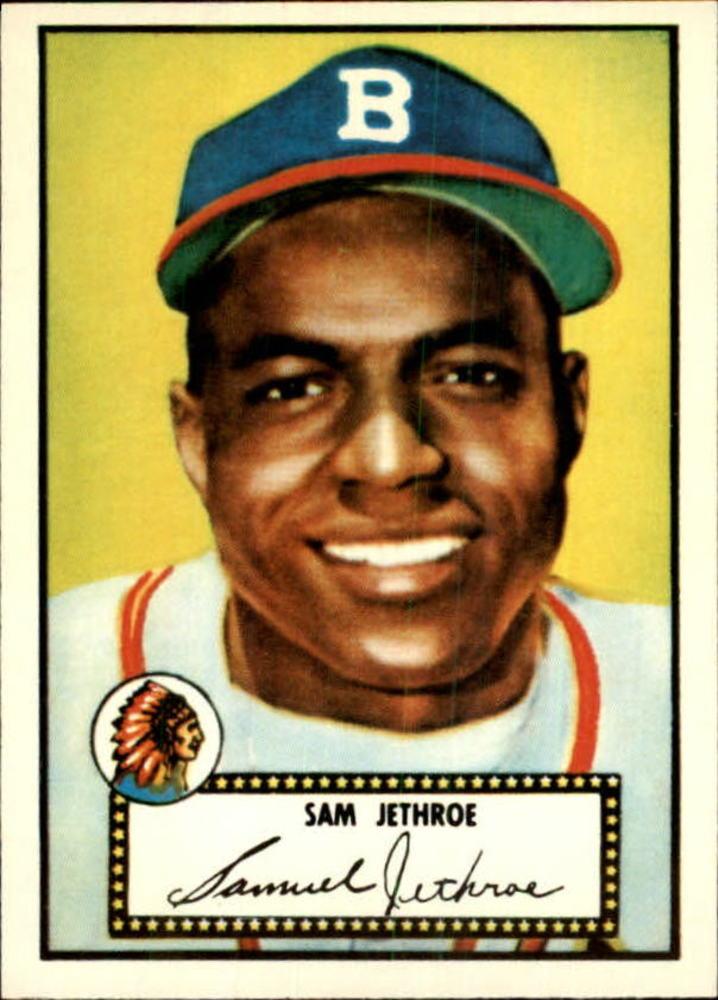 1983 Topps 1952 Reprint #27 Sam Jethroe
