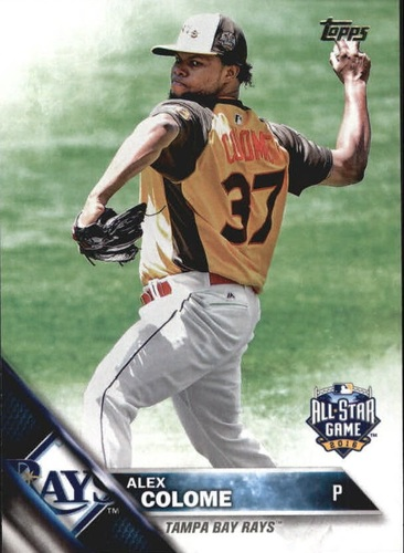 Photo of 2016 Topps Update #US200 Alex Colome AS