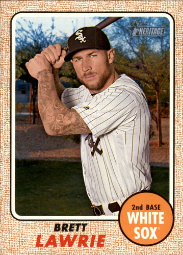 Photo of 2017 Topps Heritage #168 Brett Lawrie