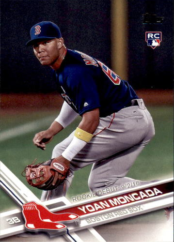 Photo of 2017 Topps Update #US125 Yoan Moncada Rookie Card