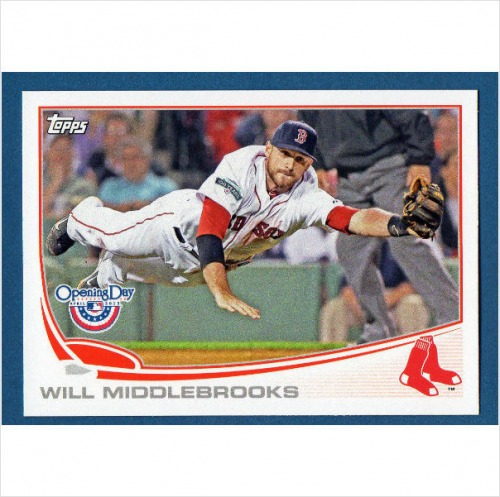 Photo of 2013 Topps Opening Day #210 Will Middlebrooks