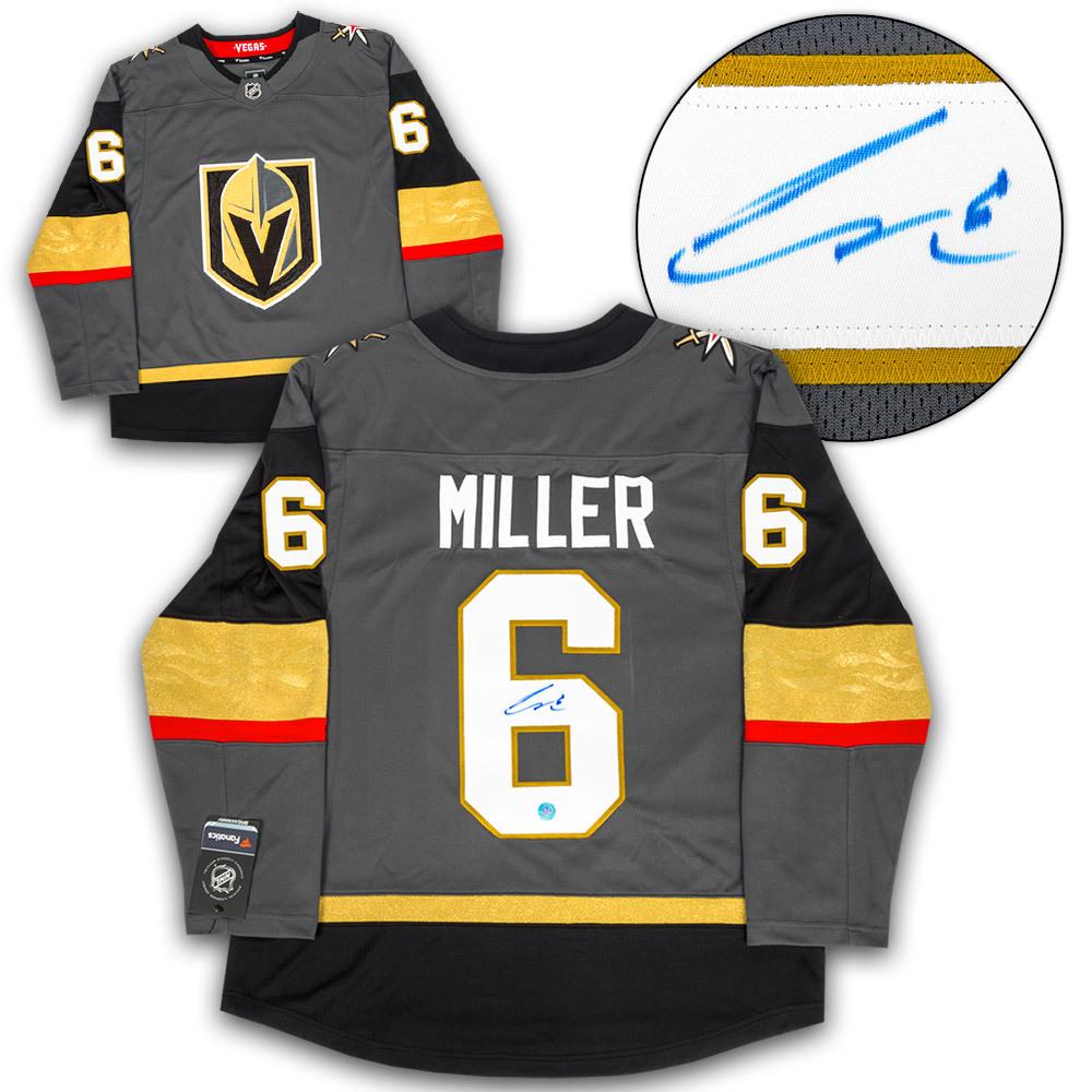 Colin Miller Vegas Golden Knights Autographed Fanatics Hockey Jersey