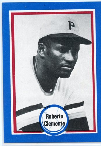 Photo of 1976 Shakey's Pizza #135 Roberto Clemente