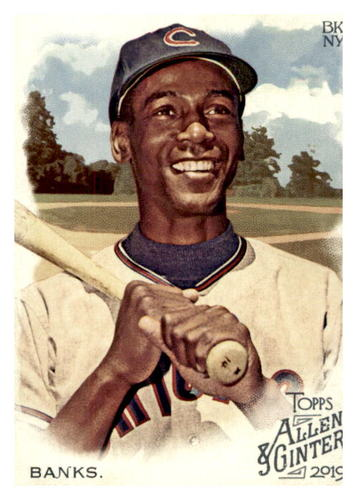 Photo of 2019 Topps Allen and Ginter #20 Ernie Banks