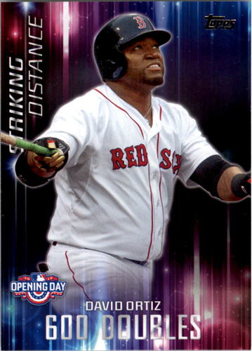 Photo of 2016 Topps Opening Day Striking Distance #SD6 David Ortiz