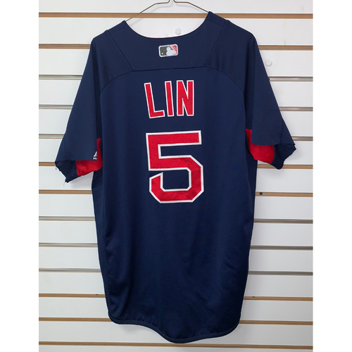 Photo of Tzu Wei Lin Team Issued Road Batting practice Jersey