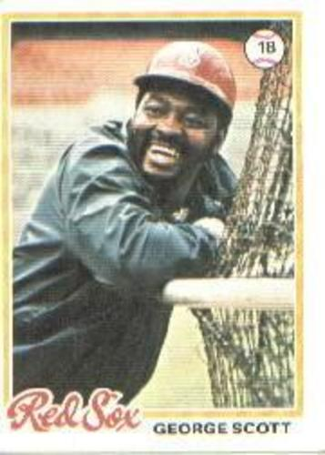 Photo of 1978 Topps #125 George Scott