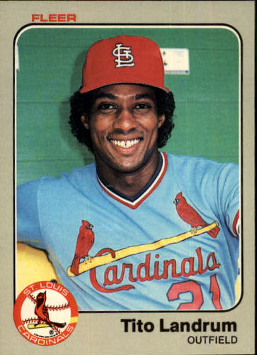 Photo of 1983 Fleer #13 Tito Landrum