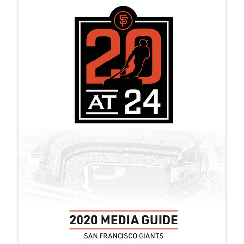 Photo of *PRESALE* 2020 San Francisco Giants Media Guide
