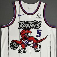 Stanley Johnson - Toronto Raptors - Game-Worn Classic Edition 1995-96 Home Jersey - Dressed, Did Not Play - 2019-20 Season