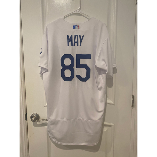 Photo of Dustin May Game Used BLM 2020 Opening Day Jersey