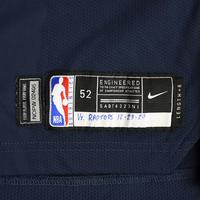 Zion Williamson - New Orleans Pelicans - Kia NBA Tip-Off 2020 - Game-Worn Icon Edition Jersey - Double-Double
