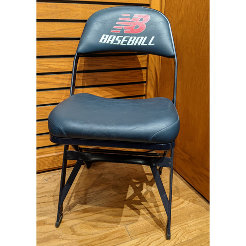 Photo of Fenway Park Visitor's Clubhouse Ichiro Suzuki Game Used Locker Room Chair