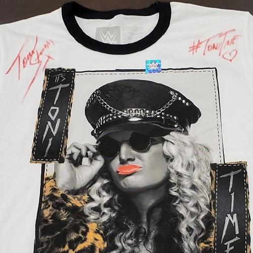 """Photo of Toni Storm SIGNED """"It's Toni Time"""" Authentic T-Shirt"""