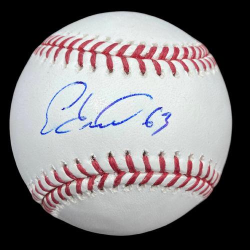 Edmundo Sosa Autographed Baseball