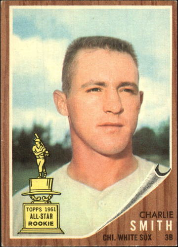 Photo of 1962 Topps #283 Charlie Smith RC
