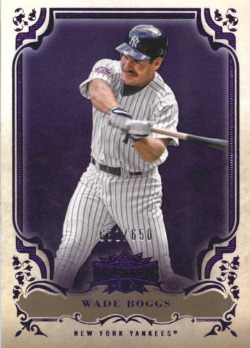 Photo of 2013 Topps Triple Threads Amethyst #48 Wade Boggs