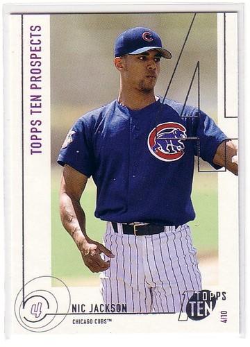 Photo of 2002 Topps Ten #194 Nic Jackson PROS RC