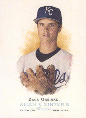 Photo of 2006 Topps Allen and Ginter #38 Zack Greinke