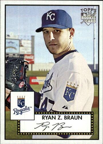 Photo of 2007 Topps 52 #96 Ryan Z. Braun UER RC
