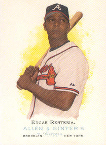 Photo of 2006 Topps Allen and Ginter #111 Edgar Renteria