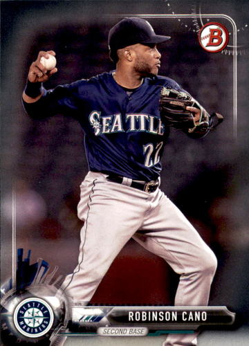Photo of 2017 Bowman #74 Robinson Cano