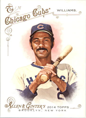 Photo of 2014 Topps Allen and Ginter #247 Billy Williams