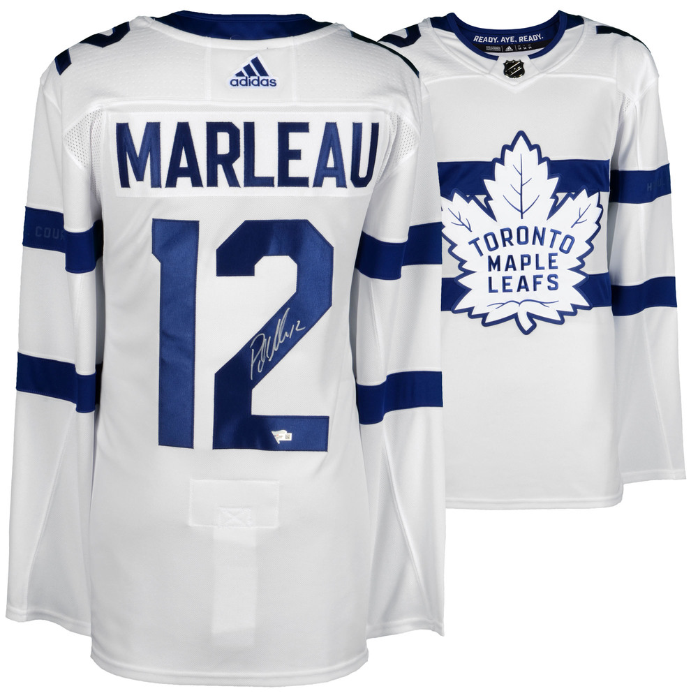 premium selection 1be2e 567b2 Patrick Marleau Toronto Maple Leafs Autographed 2018 Stadium ...