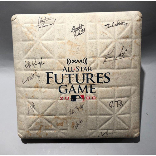 Photo of 2008 Autographed Future's Game (3rd Base, Used Innings 1-2)
