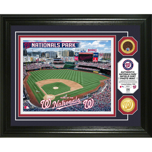 Photo of Serial #1! Washington Nationals Dirt Coin Photo Mint